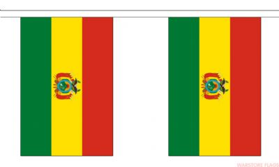 BOLIVIA BUNTING - 9 METRES 30 FLAGS
